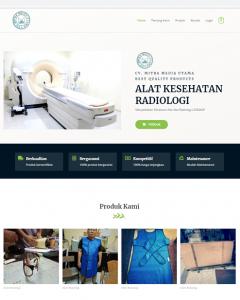 jasa web alat kesehatan radiologi
